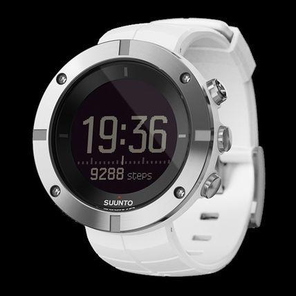 V new goods VSUUNTO KAILASH SILVER Suunto kai Rush silver chi chest rate wristwatch GPS Bluetooth