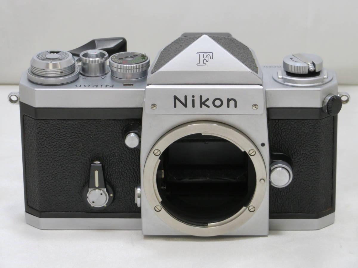 【カメラ】 ニコン Nikon F アイレベル ボディ 本体 フィルムカメラ