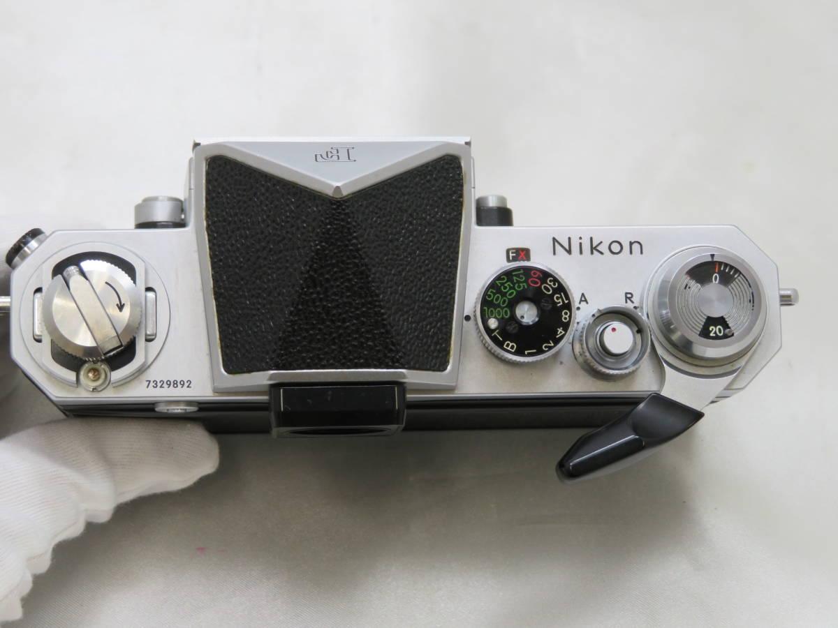 【カメラ】 ニコン Nikon F アイレベル ボディ 本体 フィルムカメラ_画像4