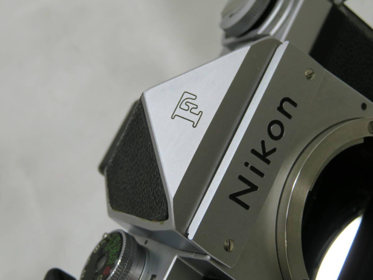 【カメラ】 ニコン Nikon F アイレベル ボディ 本体 フィルムカメラ_画像8