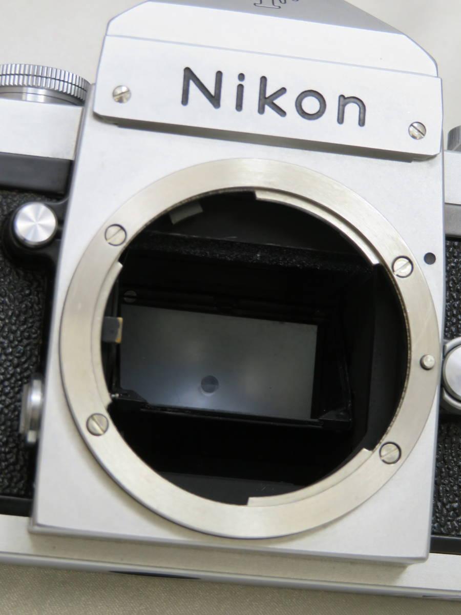 【カメラ】 ニコン Nikon F アイレベル ボディ 本体 フィルムカメラ_画像2