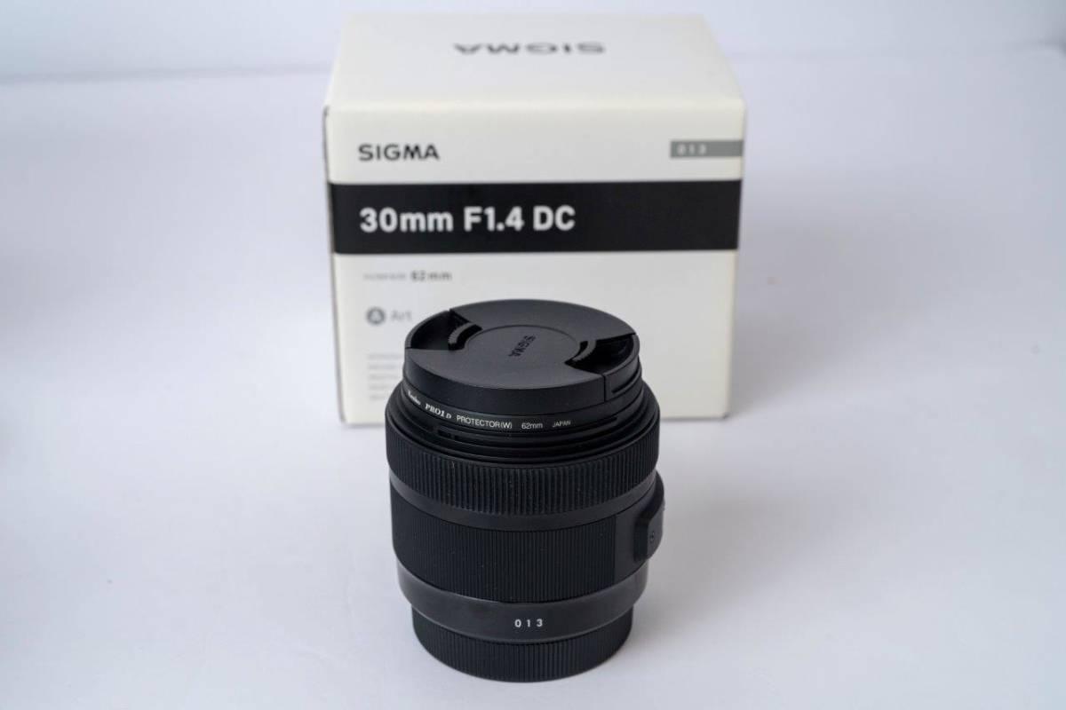 免費送貨SIGMA 30毫米F1.4 DC藝術單焦點鏡頭漂亮項目佳能APS  -  C. 編號:p647869784