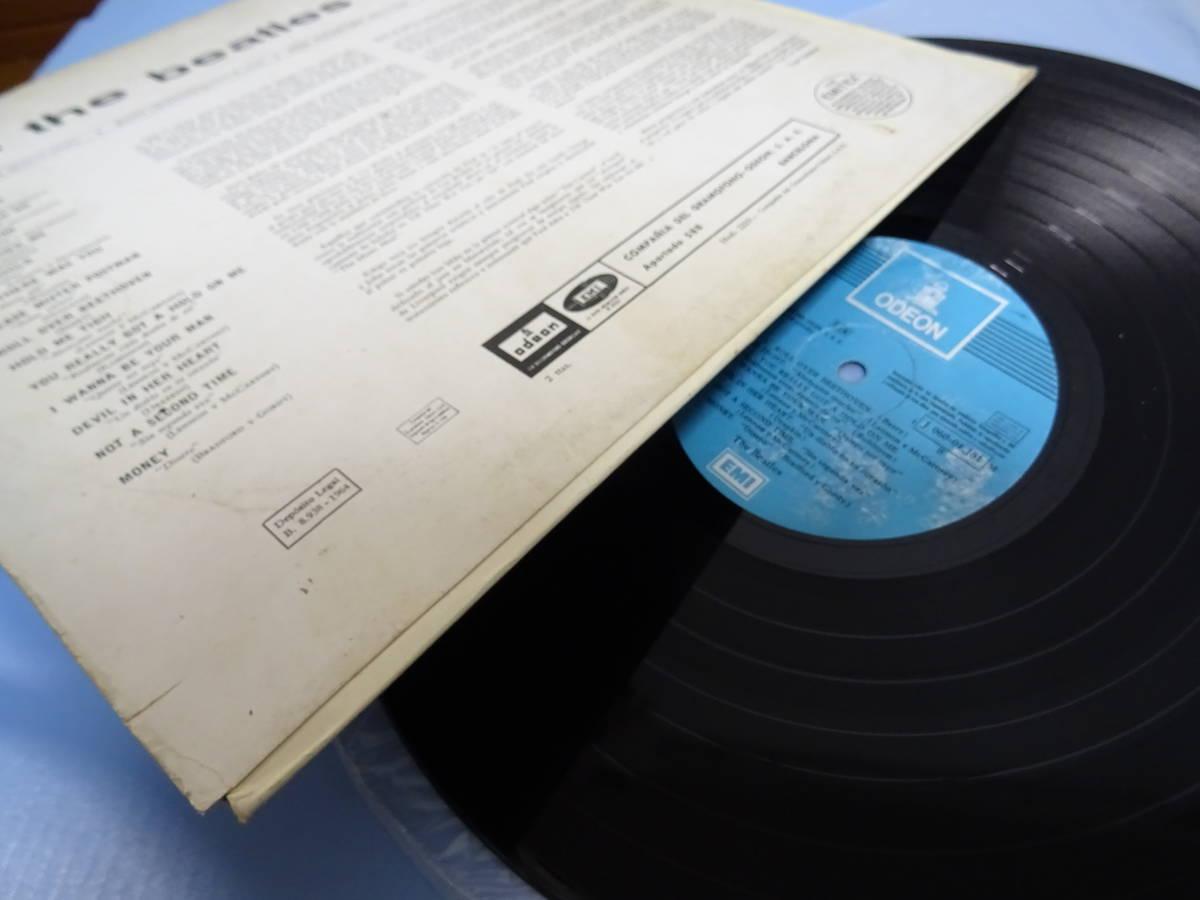 BEATLESビートルズ★WITH THE BEATLES スペイン盤LP!monoモノ!ディフジャケ 辺境盤 各国盤 レア盤 ODEON オデオン珍盤 Spain_画像6