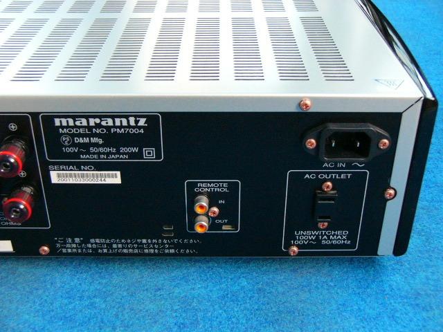 marantz マランツ 『PM7004』 ジャンク品_画像7