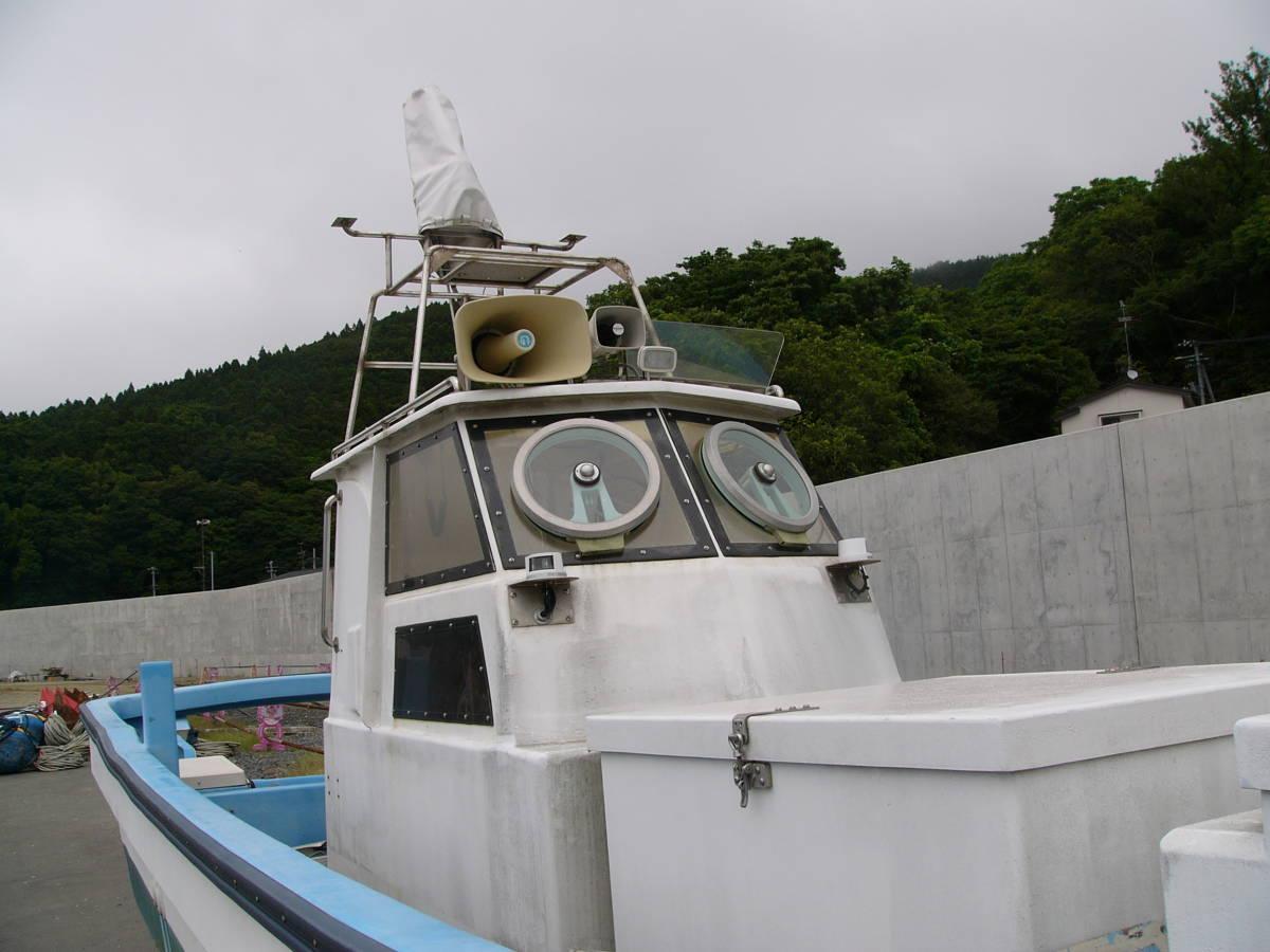 ☆現状高圧洗浄渡し☆ ヤマハ 北日本仕様30FT船検取得済み(F200×2機)巡航38ノット 250ps~300ps1機掛け理想☆_画像4