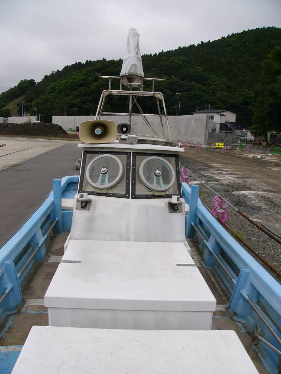 ☆現状高圧洗浄渡し☆ ヤマハ 北日本仕様30FT船検取得済み(F200×2機)巡航38ノット 250ps~300ps1機掛け理想☆_画像7