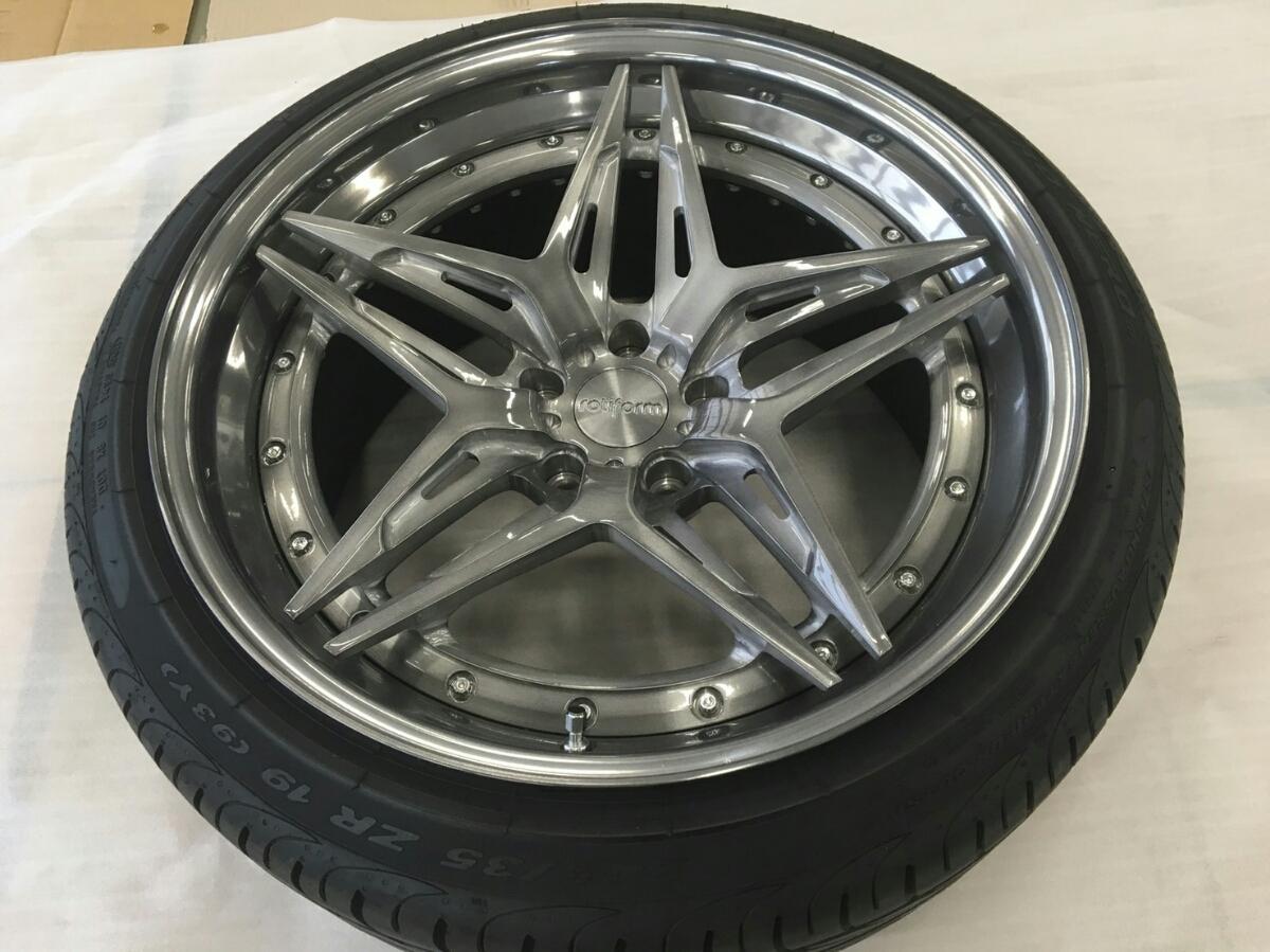 rotiform VDA 19inch四套帶凹槽的輪胎Roti形式Amegeue 編號:c708163562