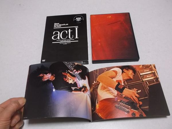≪ 9mm Parabellum Bullet 2枚組DVD パス付 【 act Ⅰ 】 ♪美品 キューミリ・パラベラム・バレット_画像1