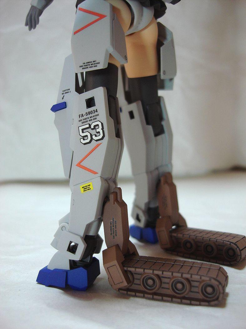 フレームアームズガール 轟雷 by Jun Watanabe 肌色パーツ追加 改修塗装完成品_画像5