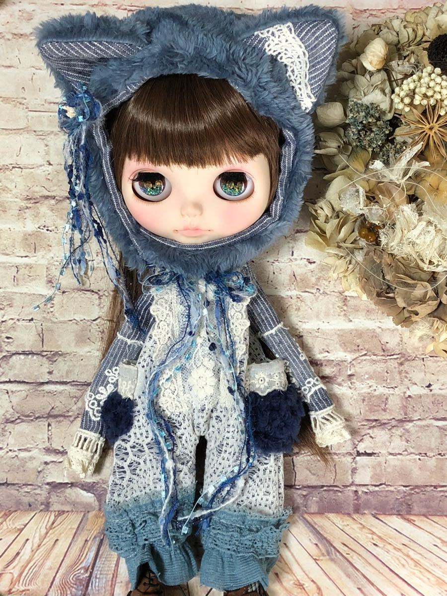 Russian blue 洋服*Blythe*ネオ ブライス*outfit* ・拍卖