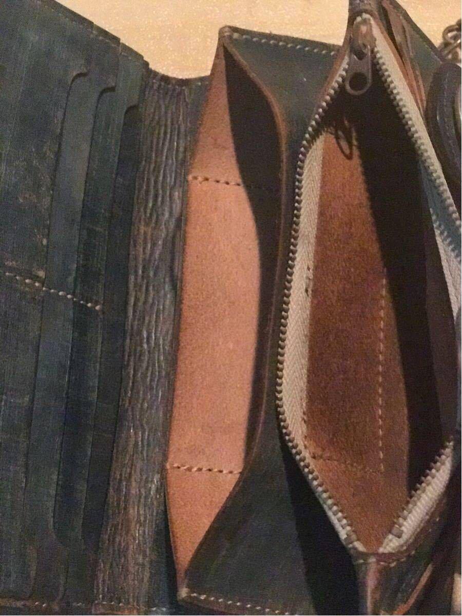 1db6179e83d3 USED☆EVISU☆ウォレット青財布エビスど根性道楽チェーン別(代买.代标 ...