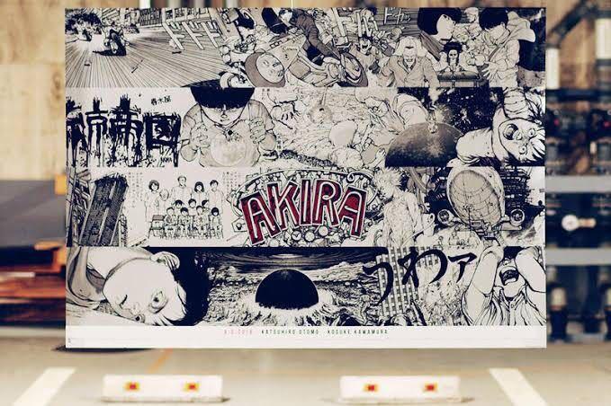 A.D.2019 AKIRA ART WALL CALENDAR アキラ アートウォール カレンダー HYPEFES パルコ GALLERY X BY PARCO_画像1