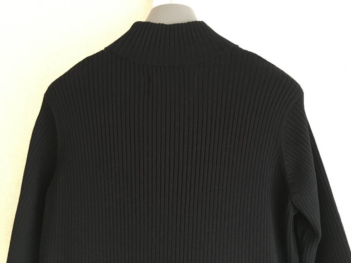 美品 ミュベール レース ニット レイヤード ワンピース 38 ブラック ドレス muveil 黒 蜂 刺繍 装飾_画像7