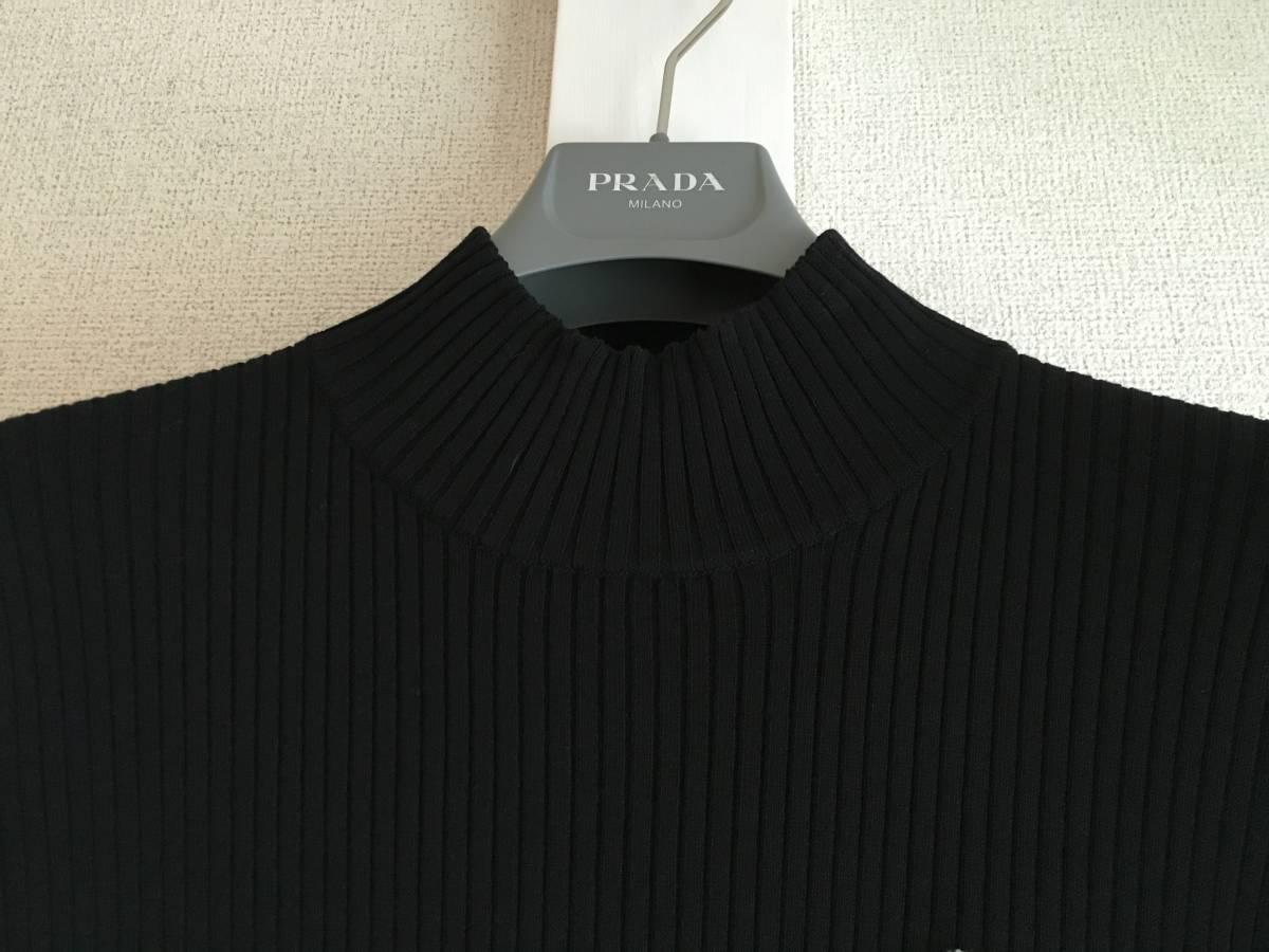 美品 ミュベール レース ニット レイヤード ワンピース 38 ブラック ドレス muveil 黒 蜂 刺繍 装飾_画像3
