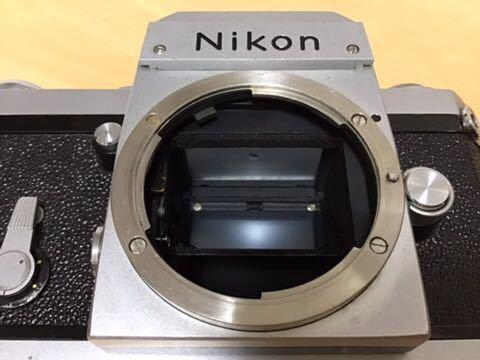 Nikon F アイレベル NIKKOR-O.C 35mm/2 動作品_画像4