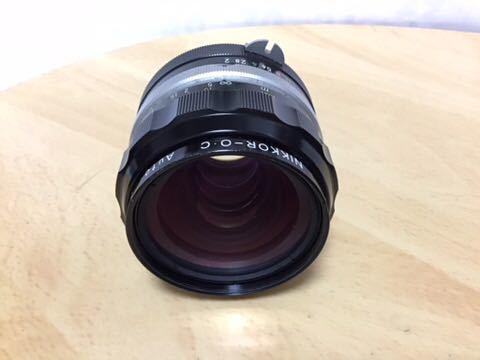 Nikon F アイレベル NIKKOR-O.C 35mm/2 動作品_画像5