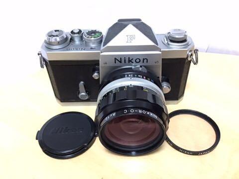 Nikon F アイレベル NIKKOR-O.C 35mm/2 動作品