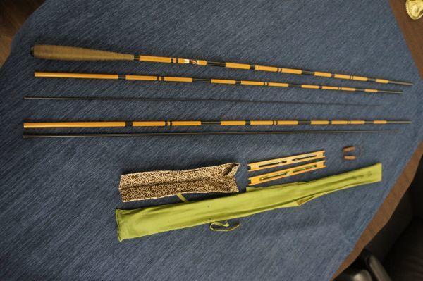 MN20814】ダイワ 枯法師 16尺 仕掛け巻2本付き 中古品