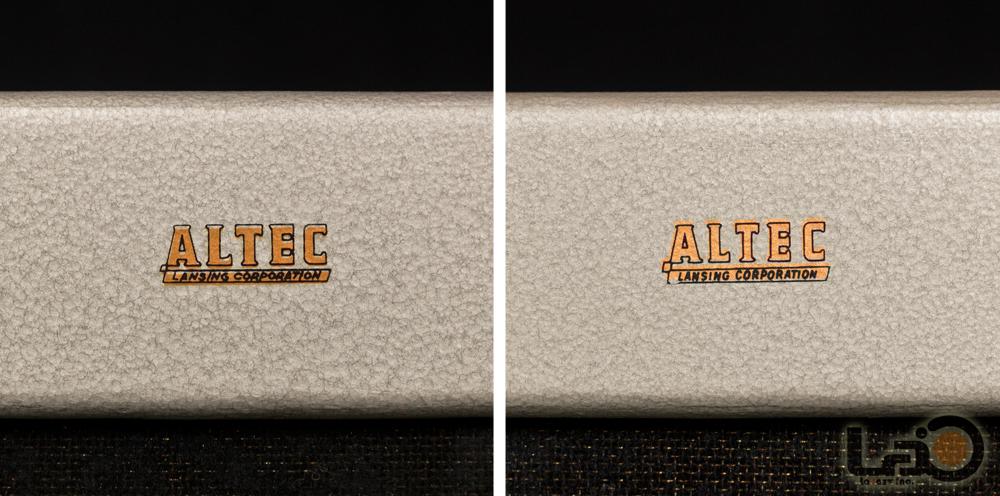 ◇アルテック◇ ALTEC 614 キャビネット 米松合板 銀箱 ペア(米国/ロサンゼルス発)_画像8