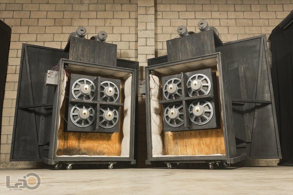 (米国/ロサンゼルス発) Jim B Lansing by Ampex Model 6000 ジムラン初 2ウェイ6スピーカー特大劇場用 (150-4Cウーファー8発/375 4発)_画像7