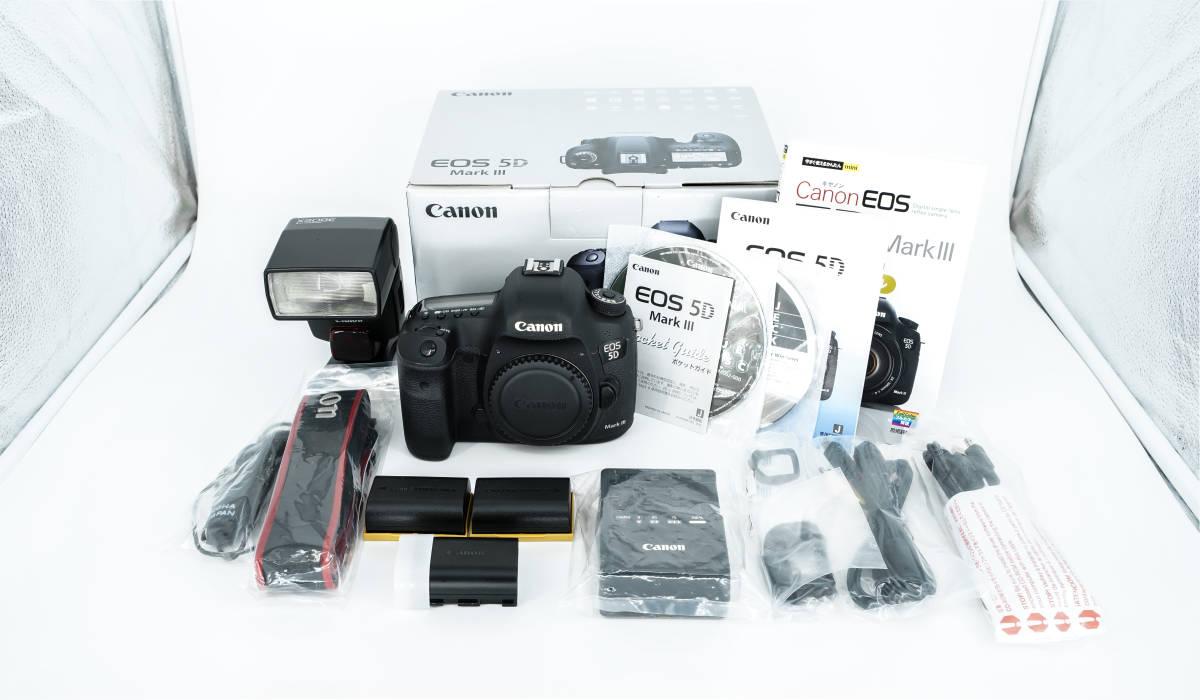 動作好調 おまけ付き Canon EOS 5D Mark III キャノン スピードライト 予備バッテリー 完全活用マニュアル
