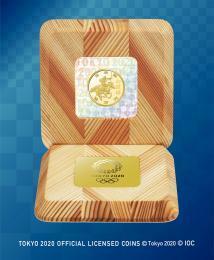 ▲▽東京2020年奧運會紀念紀念館1萬日元金錢證明貨幣集福達馬和心技△▼ 編號:r283907082