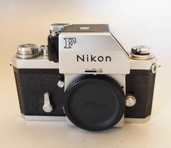 92■Nikon F フォトミック ニコン一眼レフ フィルム マニュアル カメラ※シャッター稼働