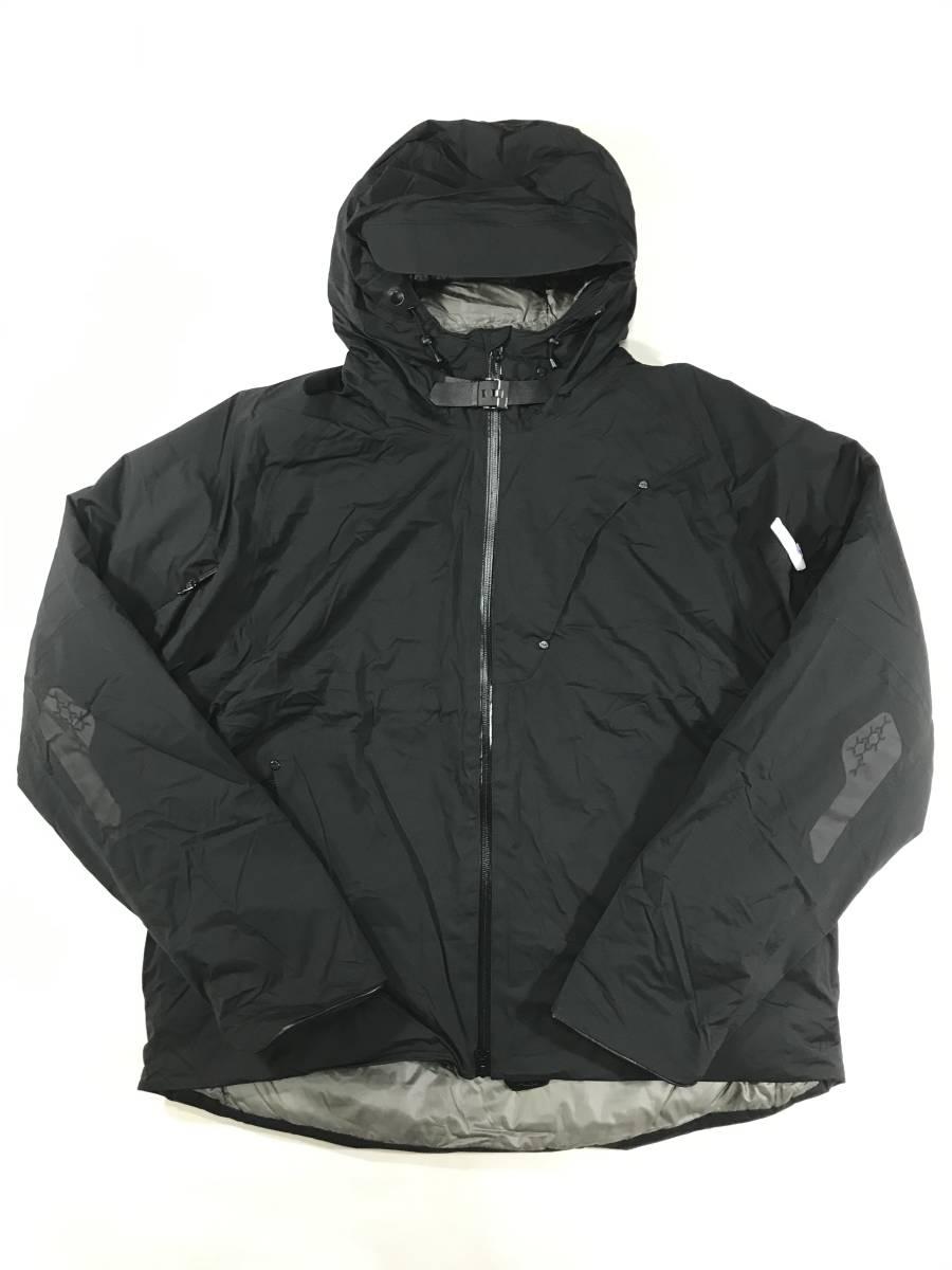 新品 14168 Lサイズ RLX ナイロン ダウン ジャケット polo ralph lauren ポロラルフローレン スキー スノボ 黒 ウインドブレーカ