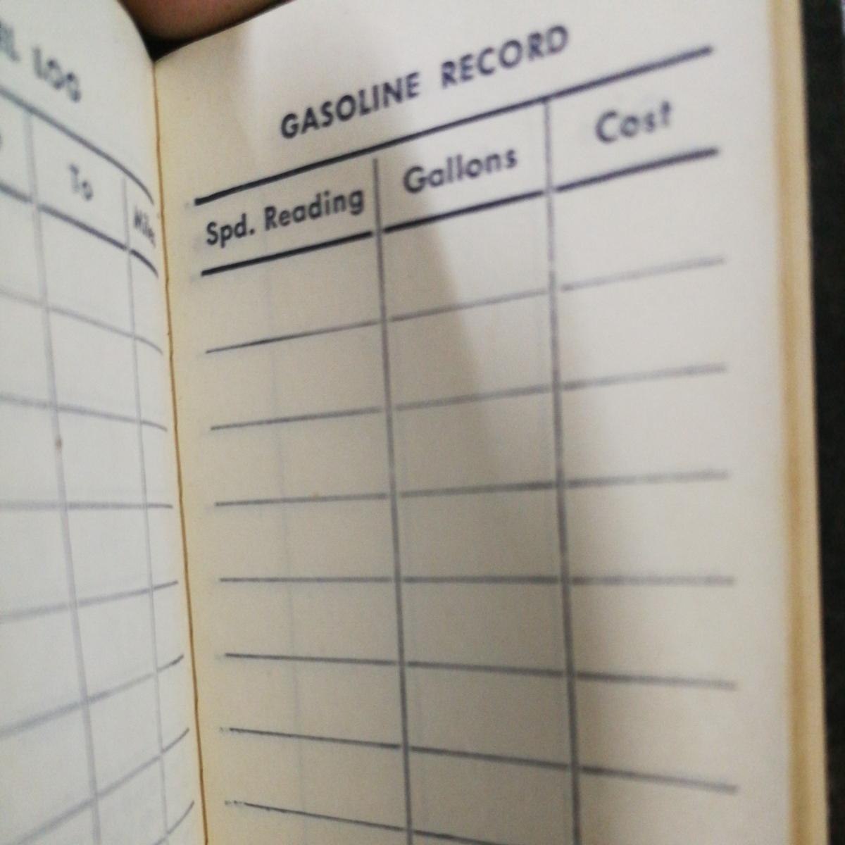 aaa charlies auto service 記録帳 1955年当時 ヤフオク