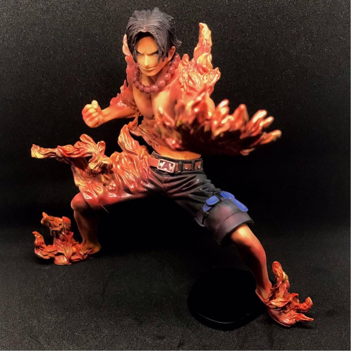 ★★海賊王★☆ABILIATORS PORTGAS·D·ACE港口氣體·D·ACE Fire Aku Ace重漆獎 編號:f308051805
