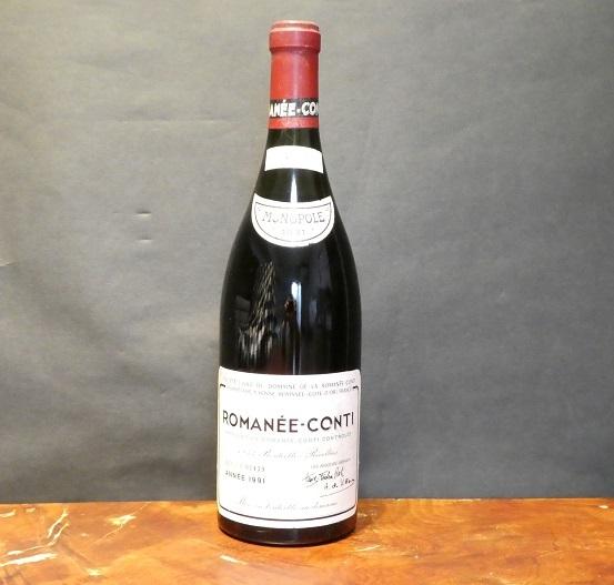【未開栓 古酒 】ROMANEE CONTI ロマネコンティ 希少 1991年