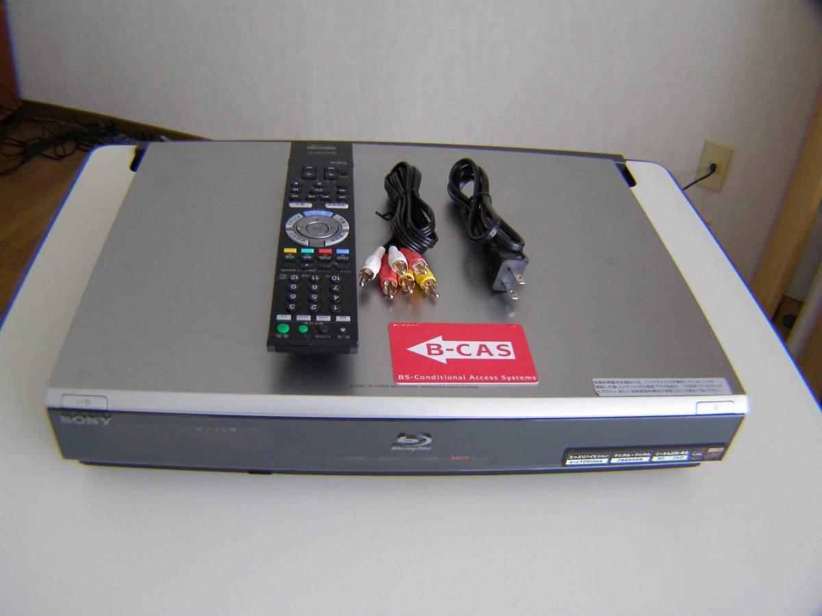 ソニー BDZ-T70 2番組同時録画 320GB 動作確認済み