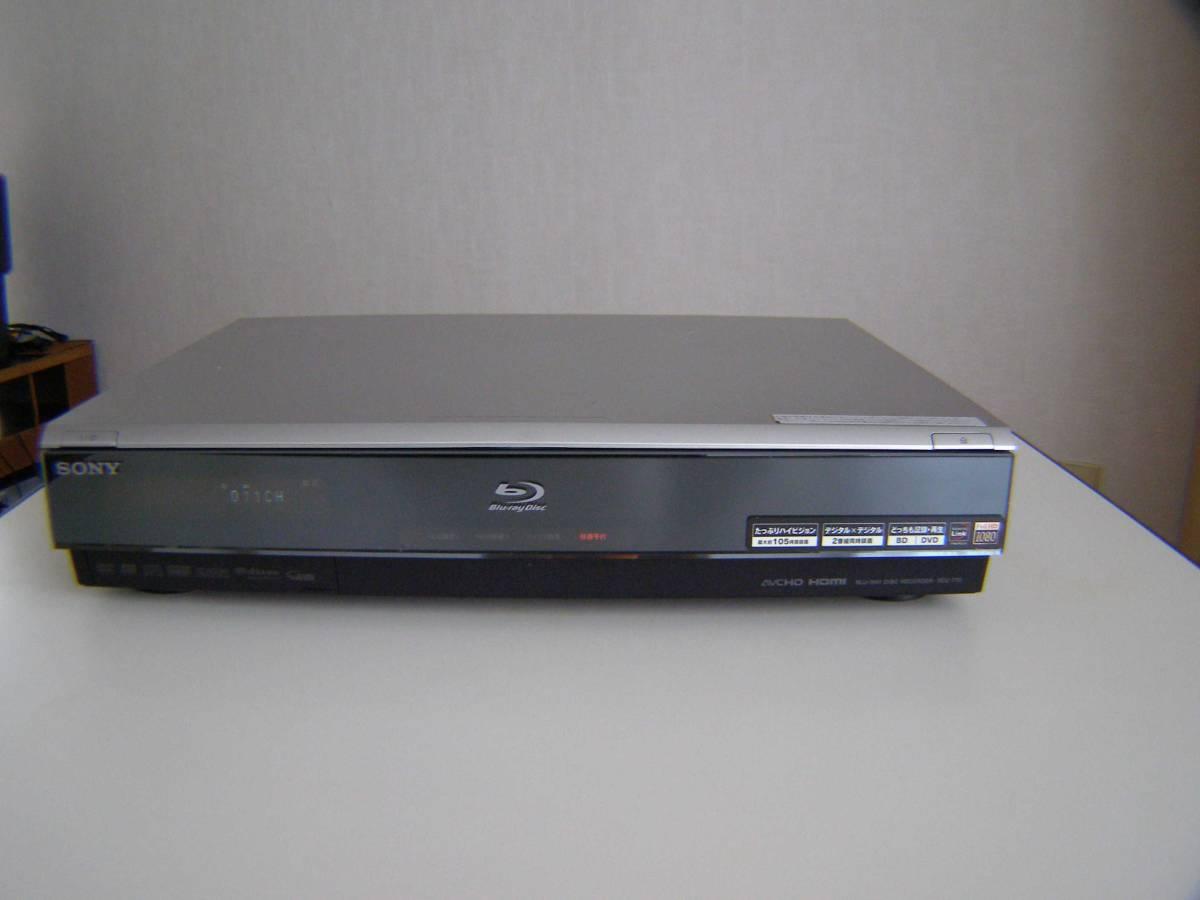 ソニー BDZ-T70 2番組同時録画 320GB 動作確認済み_画像2