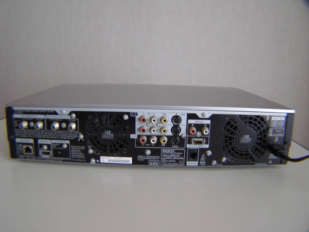 ソニー BDZ-T70 2番組同時録画 320GB 動作確認済み_画像8