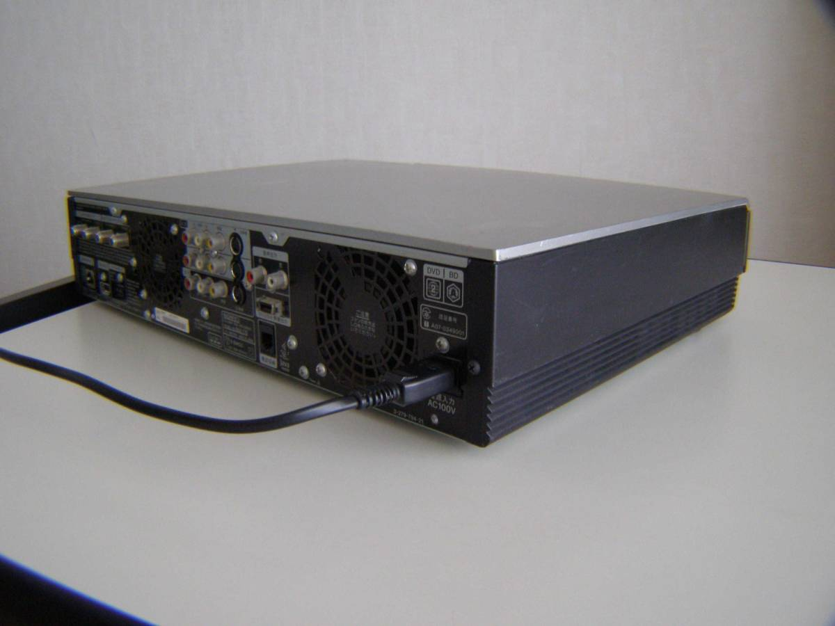 ソニー BDZ-T70 2番組同時録画 320GB 動作確認済み_画像10
