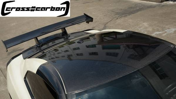 ★日産 R35 GTR用カーボンルーフパネル/一枚張り/CFRP/35R/GT-R.人気商品/本物カーボン#ニッサン#GTR#GT-R#綾織カーボン#貼り付け#R35_画像1