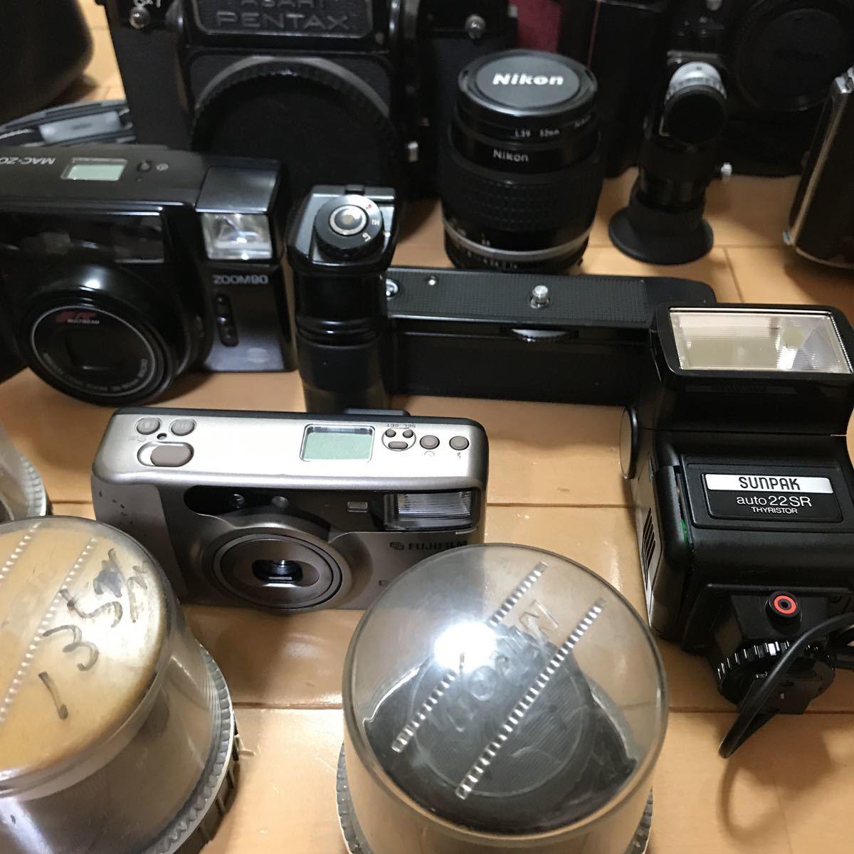 ジャンク ニコン ペンタックス など フィルムカメラ レンズ 色々 いろいろ_画像6