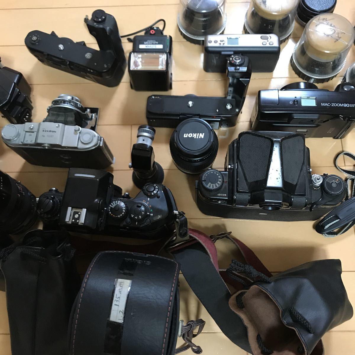 ジャンク ニコン ペンタックス など フィルムカメラ レンズ 色々 いろいろ_画像10
