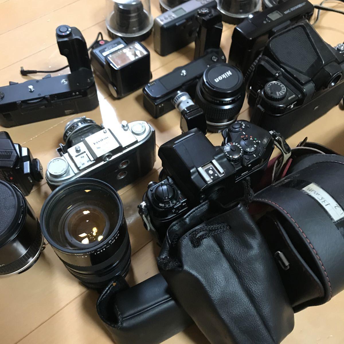 ジャンク ニコン ペンタックス など フィルムカメラ レンズ 色々 いろいろ_画像8