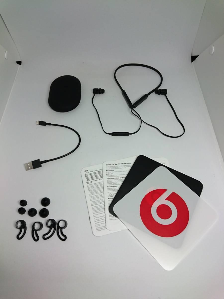 【訳あり】ビーツ Beats by Dr.Dre ワイヤレスイヤホン BeatsX ブラック