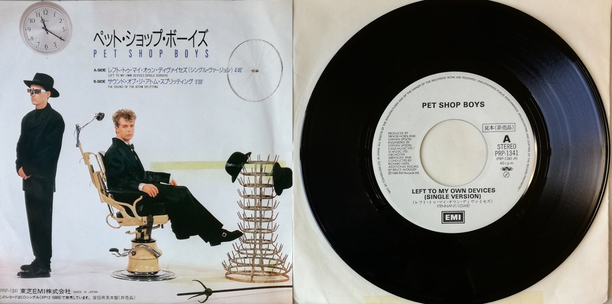 free shipping ]Pet Shop Boys / Left To My Own Devices