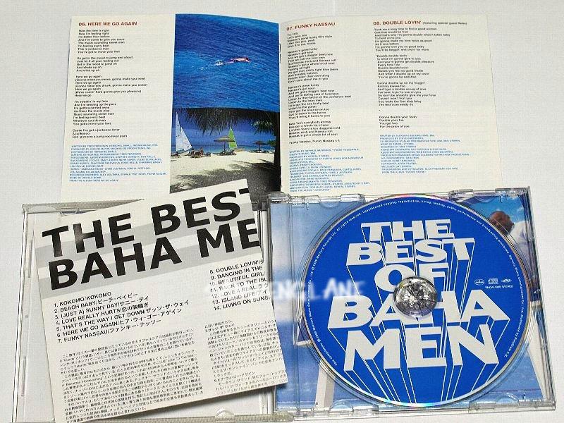 国内盤 ベスト・オブ・バハ・メン THE BEST OF BAHA MEN 傷みあり CD_裏ジャケに水濡れ跡、しわ あります