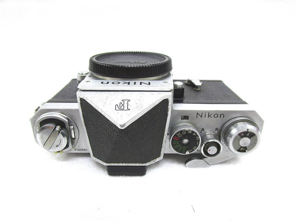 Nikon ニコン F フィルムカメラ ボディ / 中古カメラ 現状品_画像2