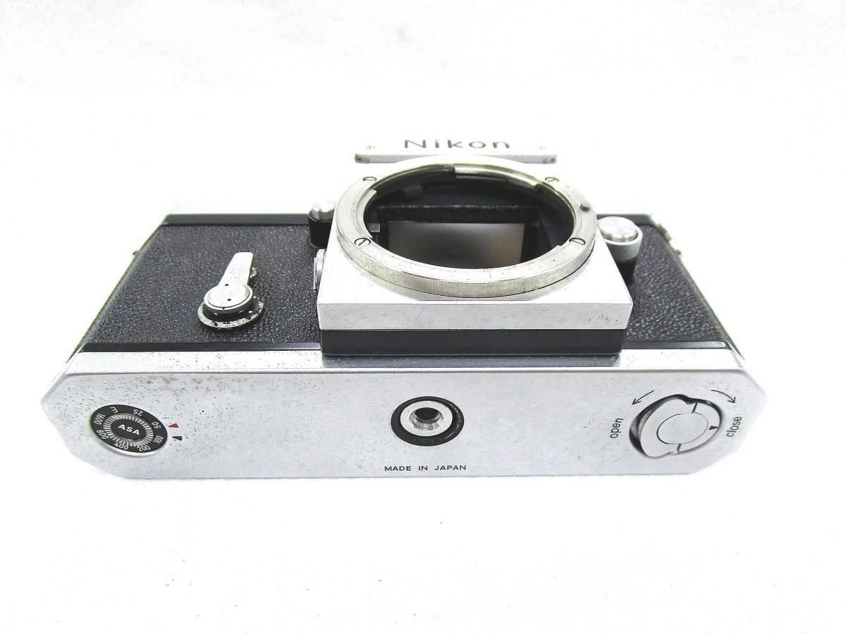 Nikon ニコン F フィルムカメラ ボディ / 中古カメラ 現状品_画像5