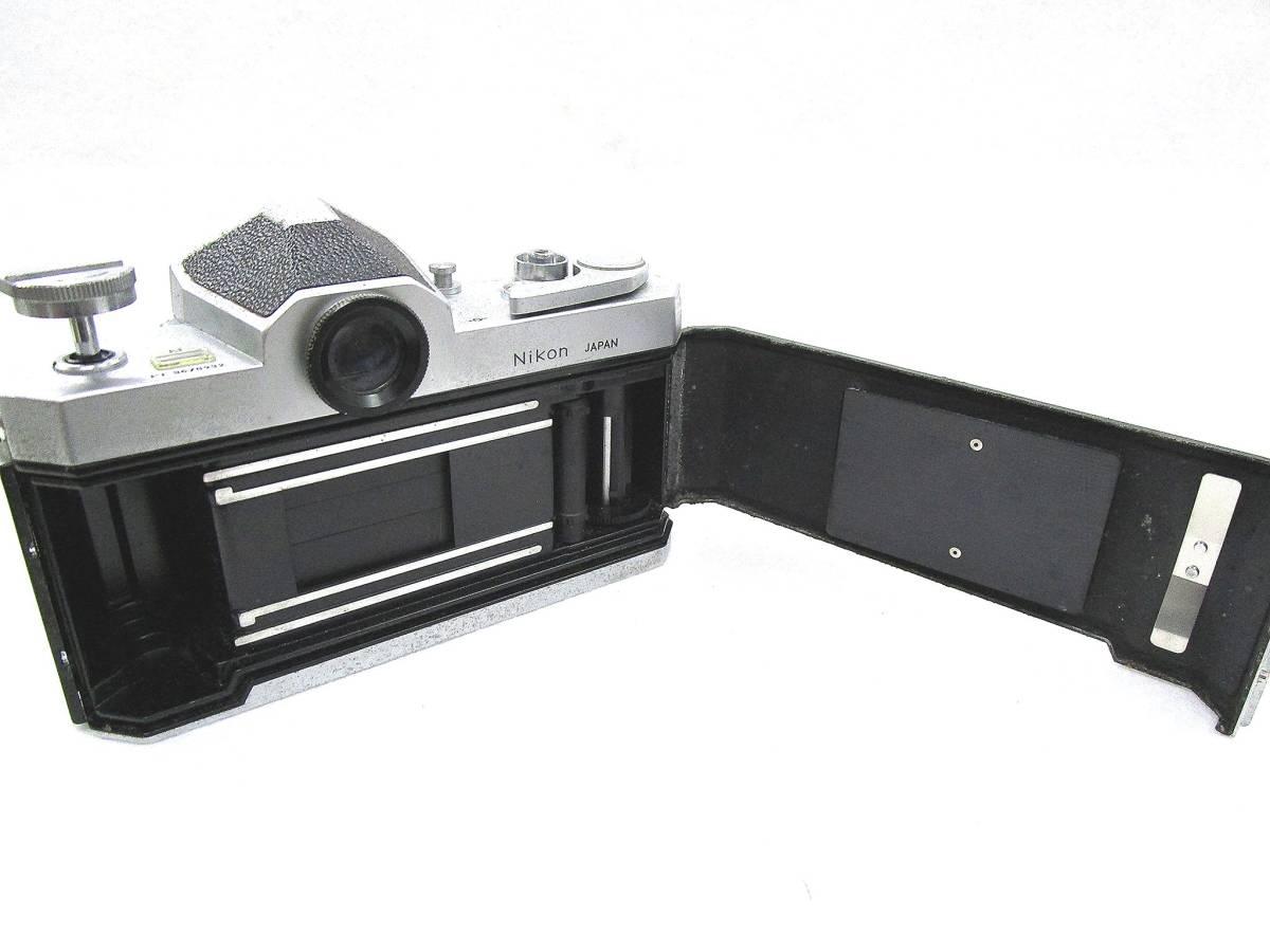 Nikon ニコン F フィルムカメラ ボディ / 中古カメラ 現状品_画像8