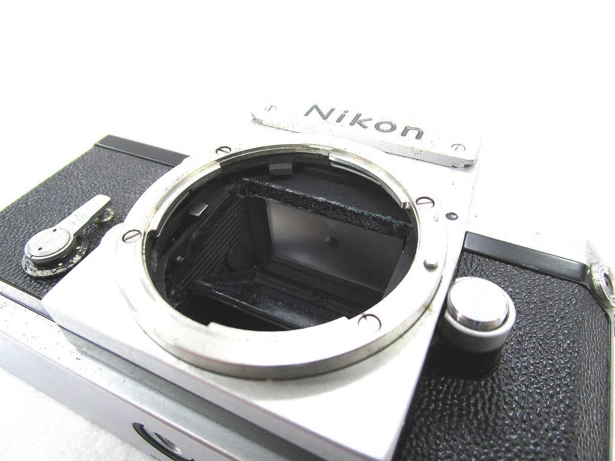 Nikon ニコン F フィルムカメラ ボディ / 中古カメラ 現状品_画像6