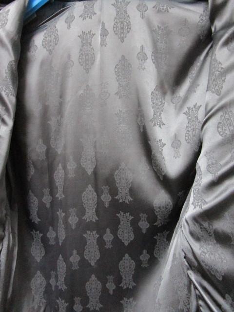 レア!世界で1着だけ!A&G レザーシャツジャケット(シルバーアクセサリーカスタムオーダージャケットレザークロススカルパッチ)_画像5