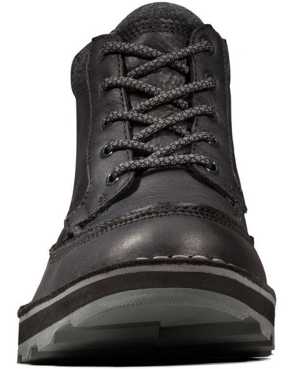 Clarks 29cm ブーツ GTX ゴアテックス ブラック 黒 レザー 革 マウンテンブーツ レースアップ チャッカ ビジネス ローファー H193_画像7