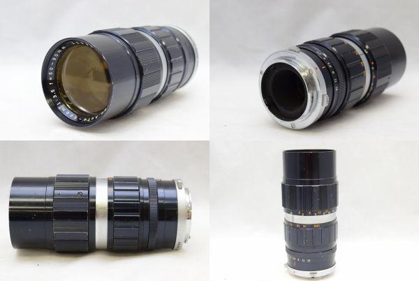 ☆OLYMPUS オリンパス PEN-FT G.ZUIKO AUTO-S 40mm 1:1.4 + ZUIKO Auto-zoom 50-90mm 1:3.5 ジャンク_画像9