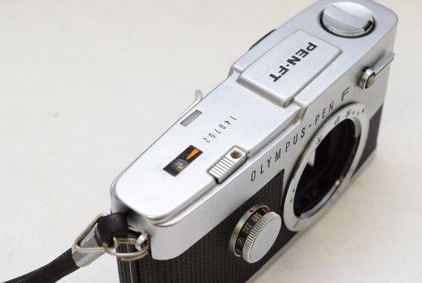 ☆OLYMPUS オリンパス PEN-FT G.ZUIKO AUTO-S 40mm 1:1.4 + ZUIKO Auto-zoom 50-90mm 1:3.5 ジャンク_画像6